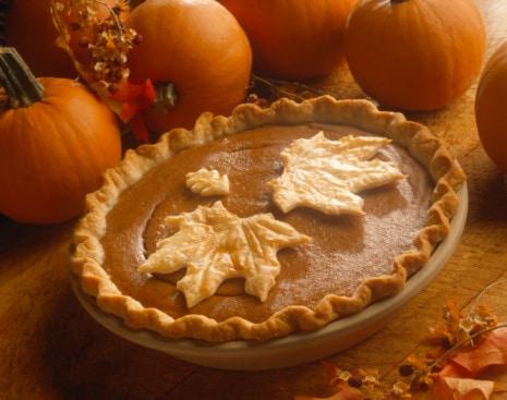 freezing pumpkin pie