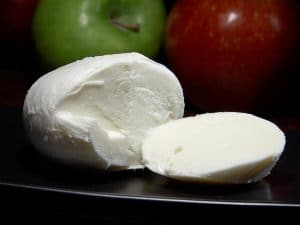 unfrozen mozzarella cheese