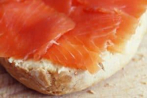 unfrozen smoked salmon