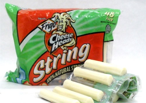 Packaged Cheese Sticks