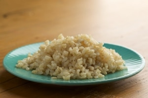 Can you freeze cooked brown rice?