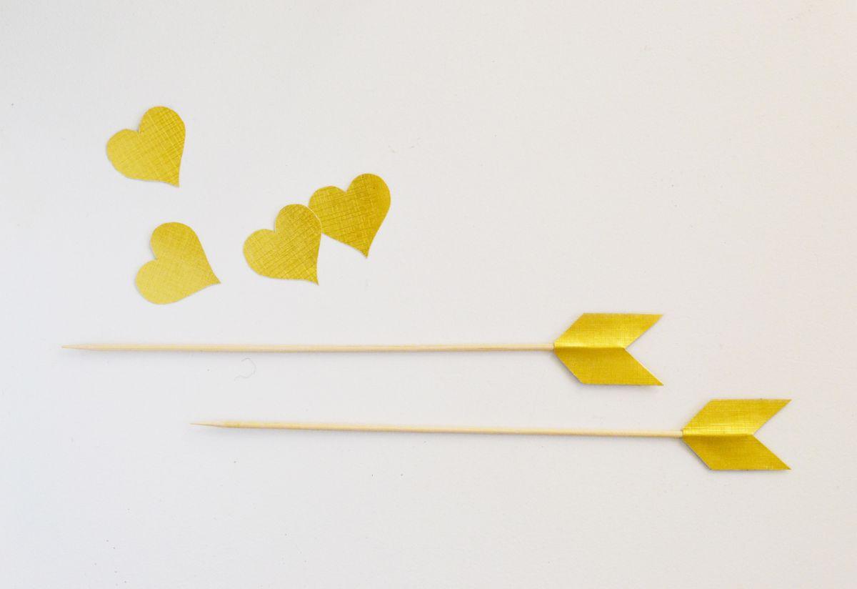 Valentine's Day Dessert Kabobs Arrows