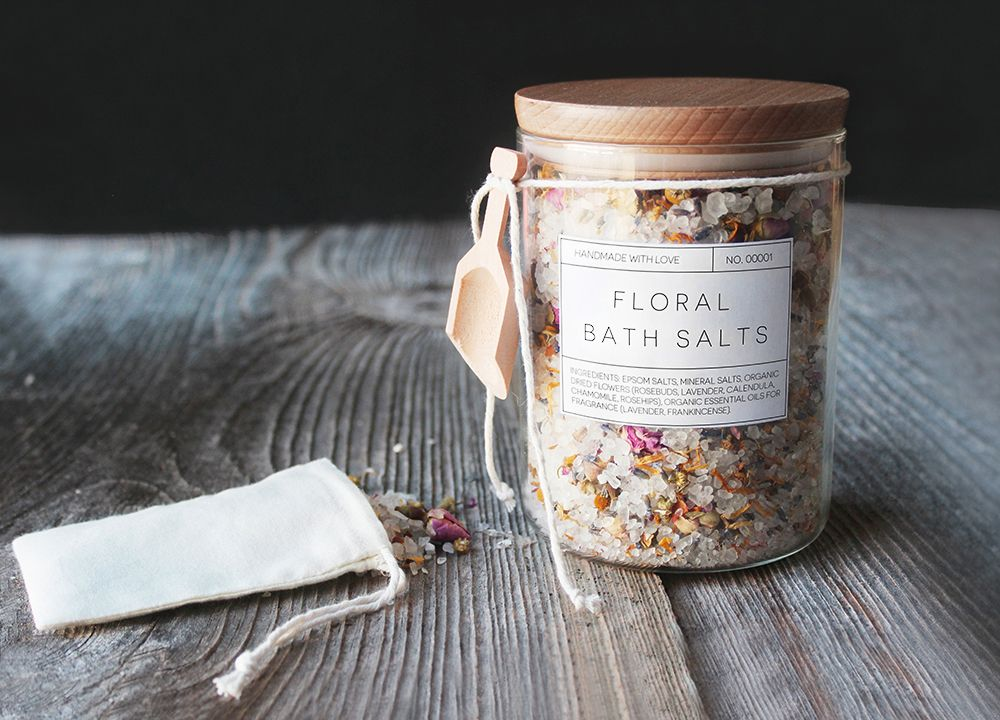 Mother's day gift guide bath salt