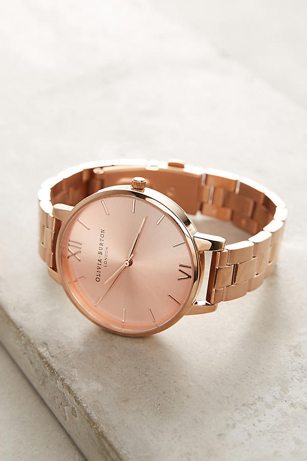 Mother's day gift guide gold watch