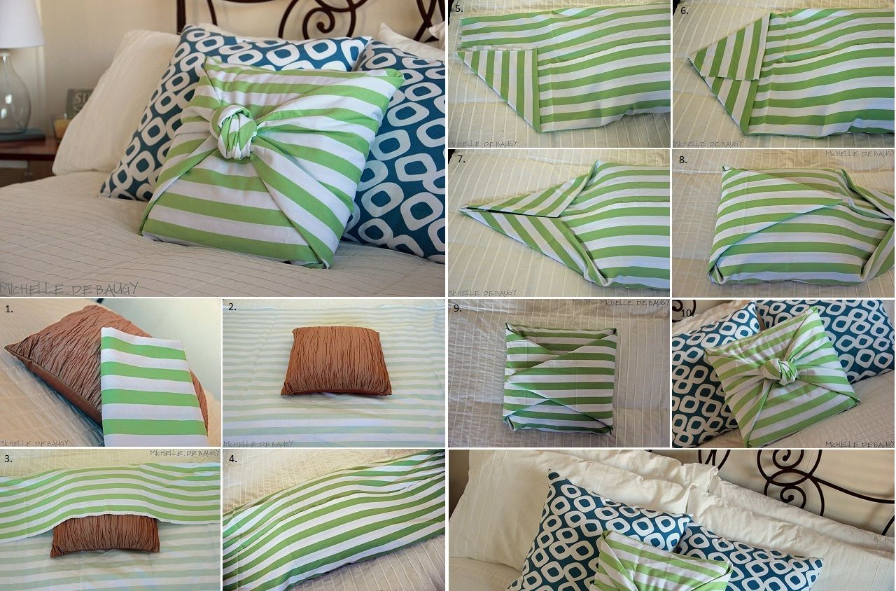 No Sew Pillow Case Patterns
