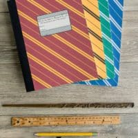 Hogwarts inspired notebooks