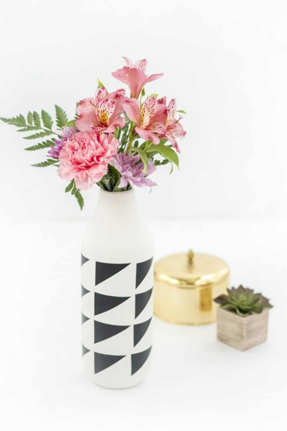 Diy modern vase