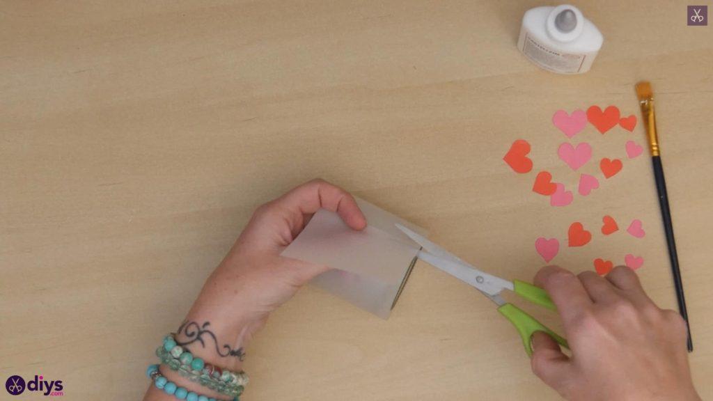 نگهدارنده شمع روز ولنتاین مرحله 3c