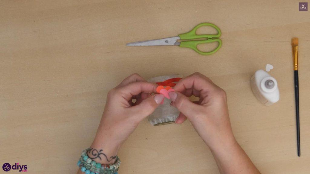 نگهدارنده شمع روز ولنتاین مرحله 7a