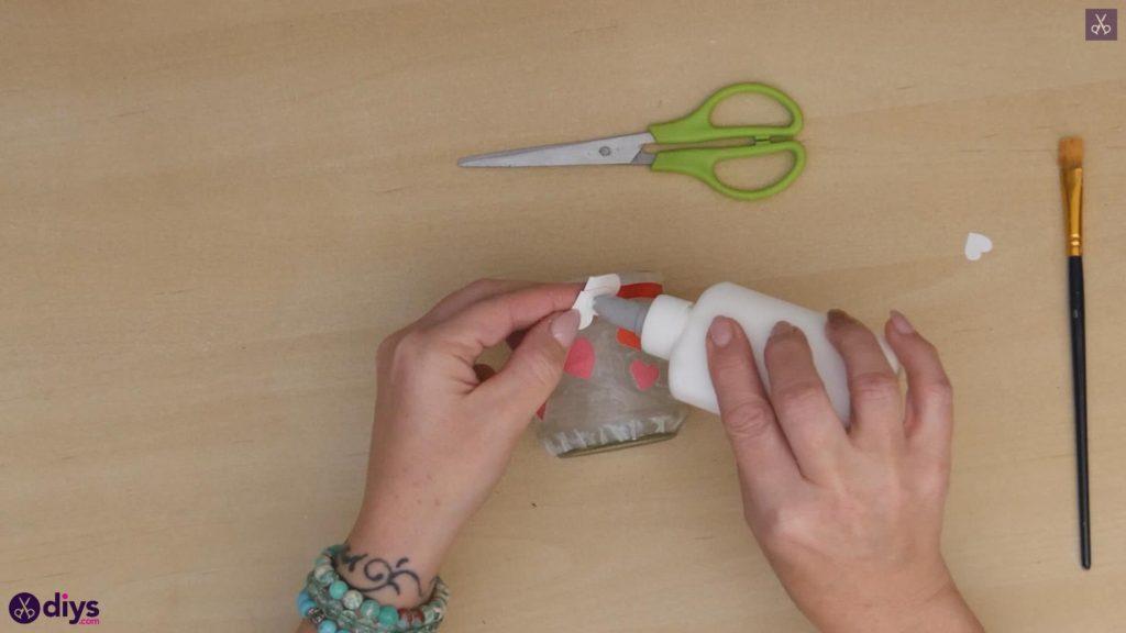 نگهدارنده شمع روز ولنتاین مرحله 7b
