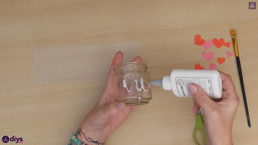 نگهدارنده شمع روز ولنتاین مرحله ب