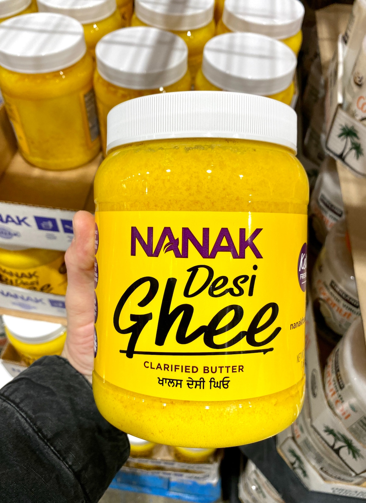 A picture of clarified butter / ghee