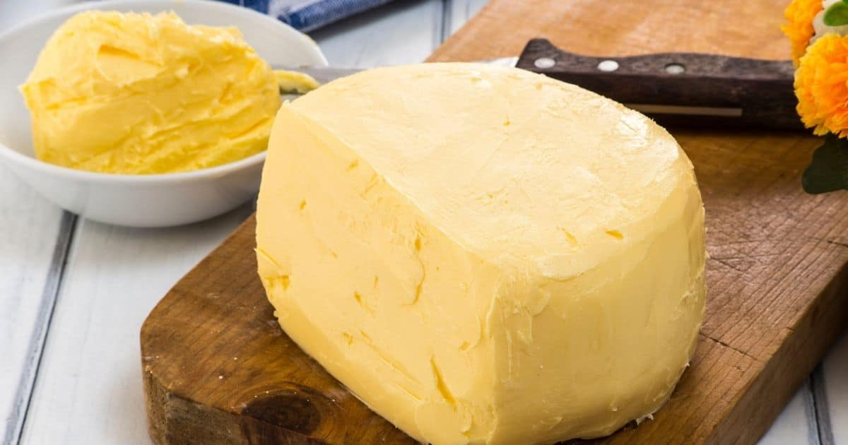 A picture of unsalted/cultured butter