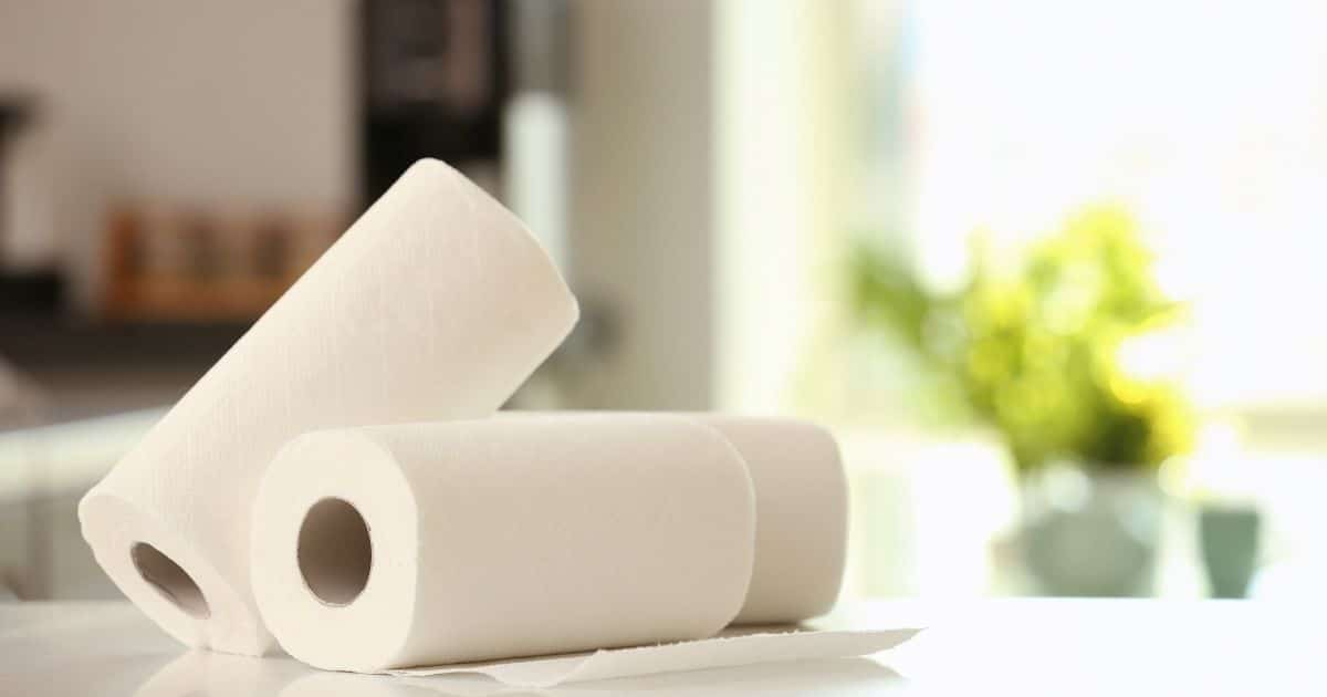 Kitchen towel rolls