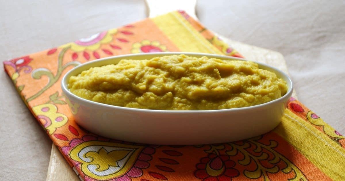 A picture of celeriac mash