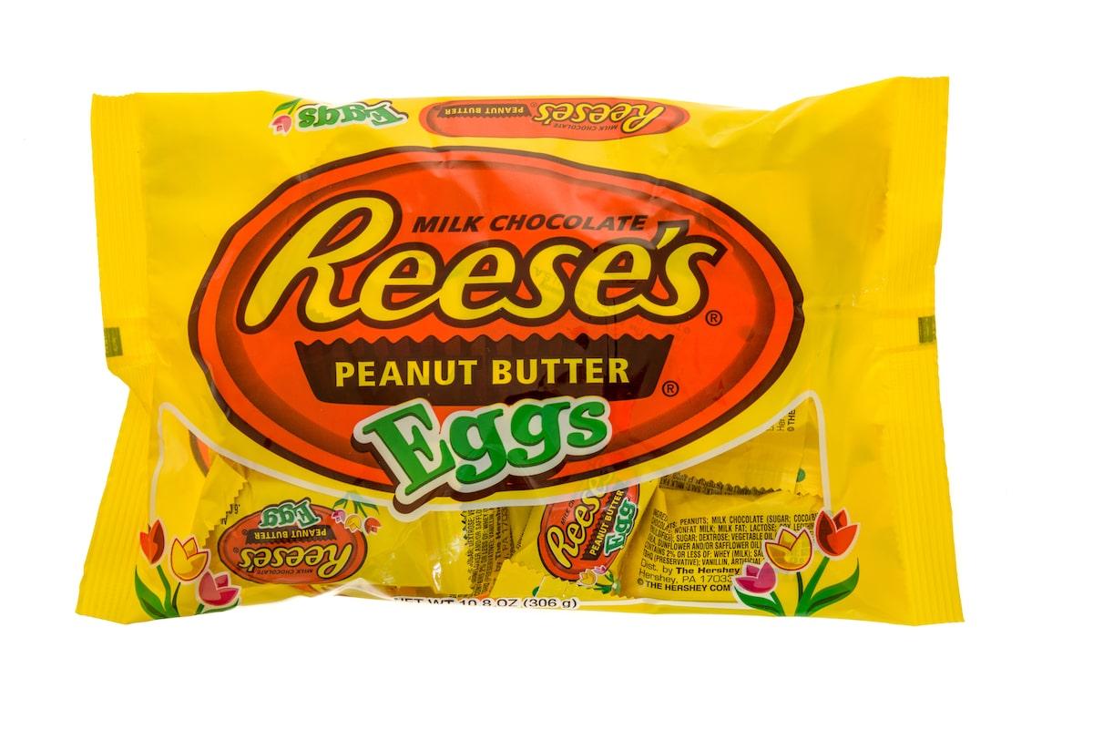 Reese's eggs bag