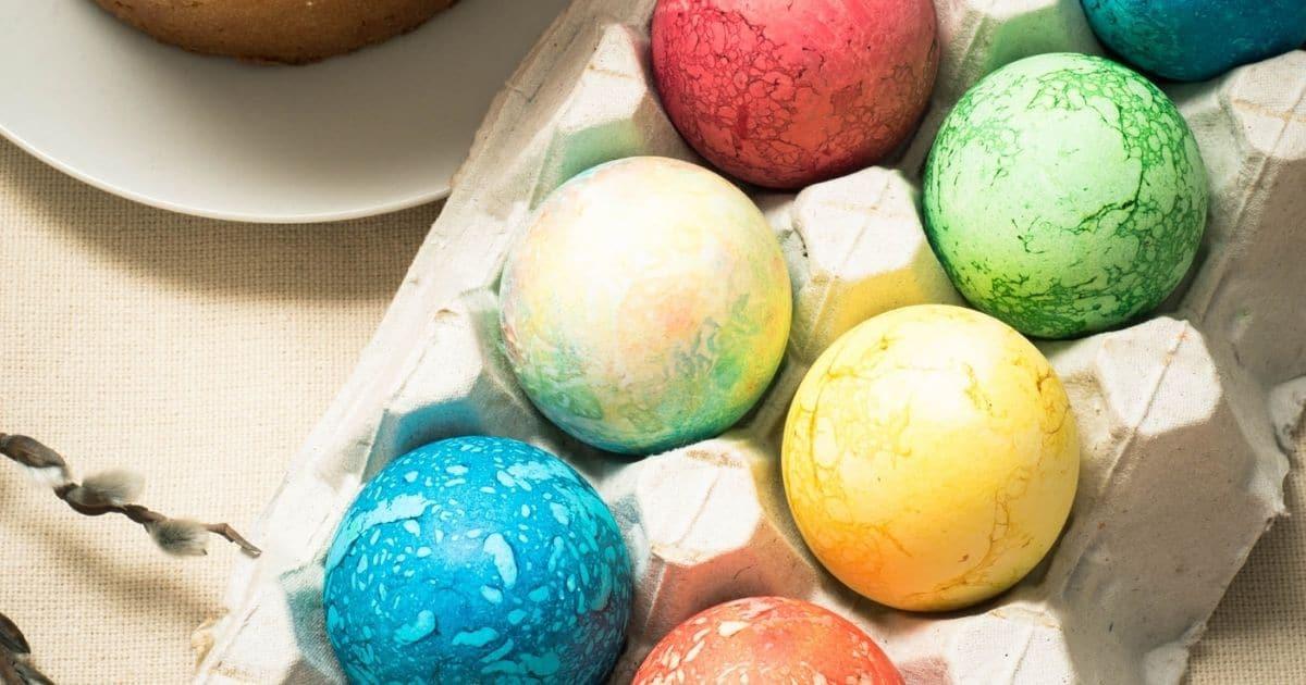 Easter egg buttercream candies
